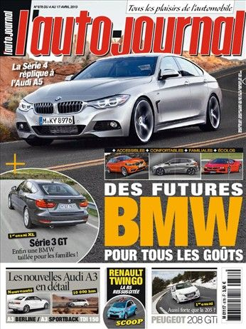L'Auto Journal N°878 du 4 au 10 Avril 2013