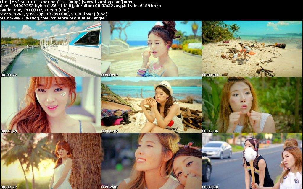 [MV] SECRET   YooHoo [HD 1080p Youtube]