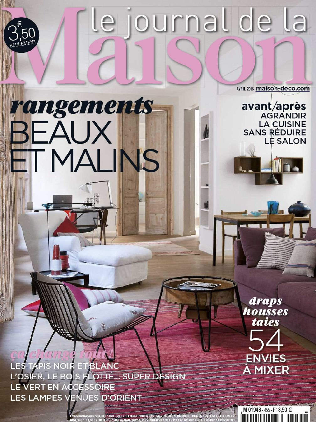 Le Journal de la Maison N°455 Avril 2013