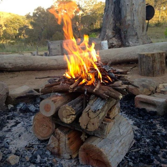 Hacer fuego perfecto al reves