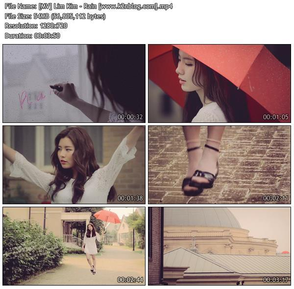[MV] Lim Kim - Rain [HD 720p Youyube]