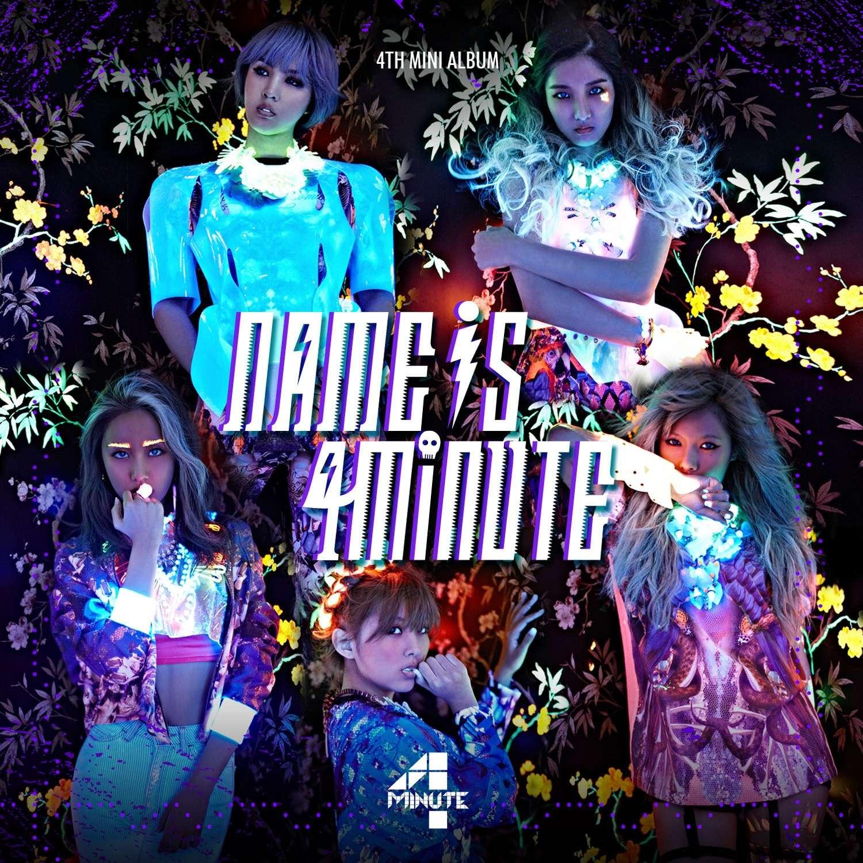 [Album] 4MINUTE - Name Is 4minute